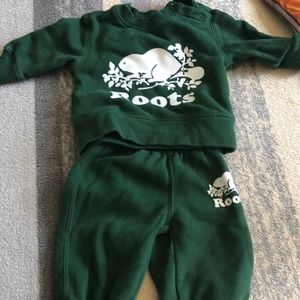 Baby Roots 3-6 month outfit